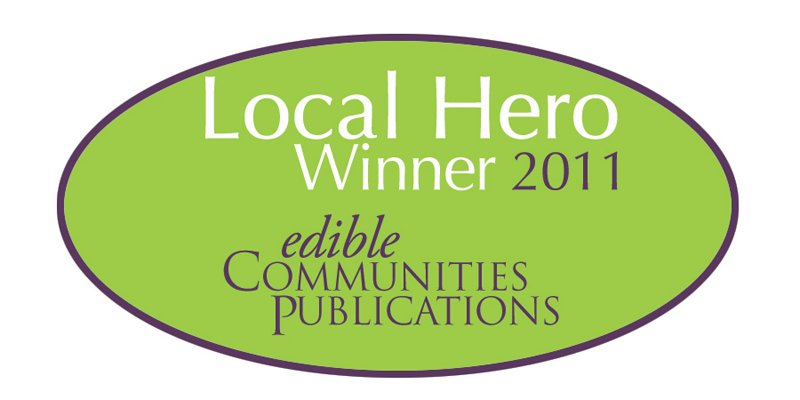 Edible Communities Publications Local Hero Winner 2011